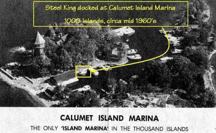 Calumet Island in the 1000 Islands