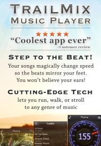 TrailMix app