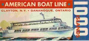 American Boat Line Brochure