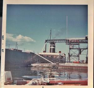 1000 Islands Clayton Coal dock sep 67